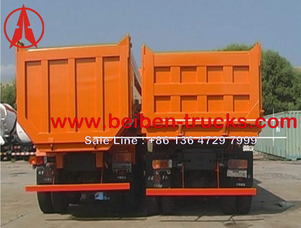 beiben heavy duty U type dump trucks supplier