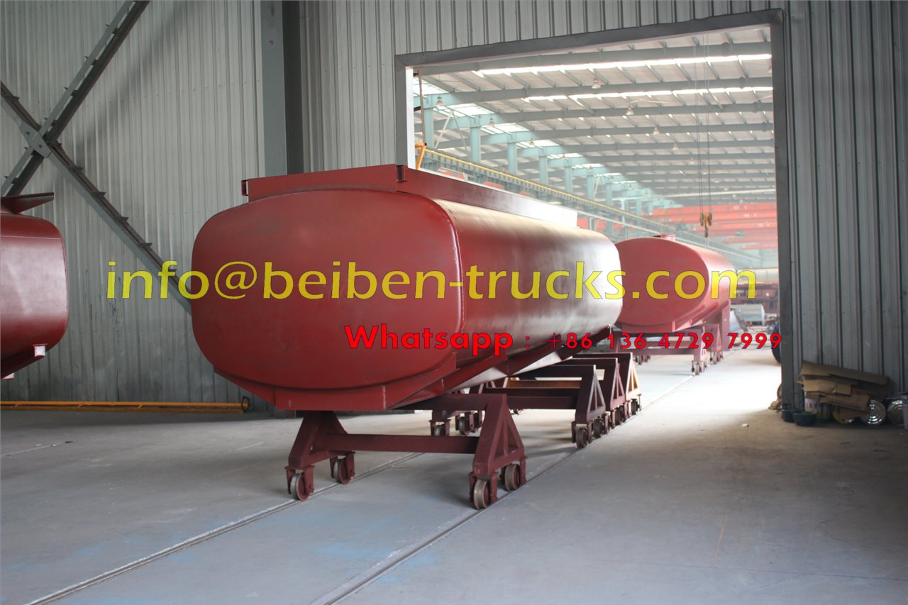 beiben fuel tanker truck workshop