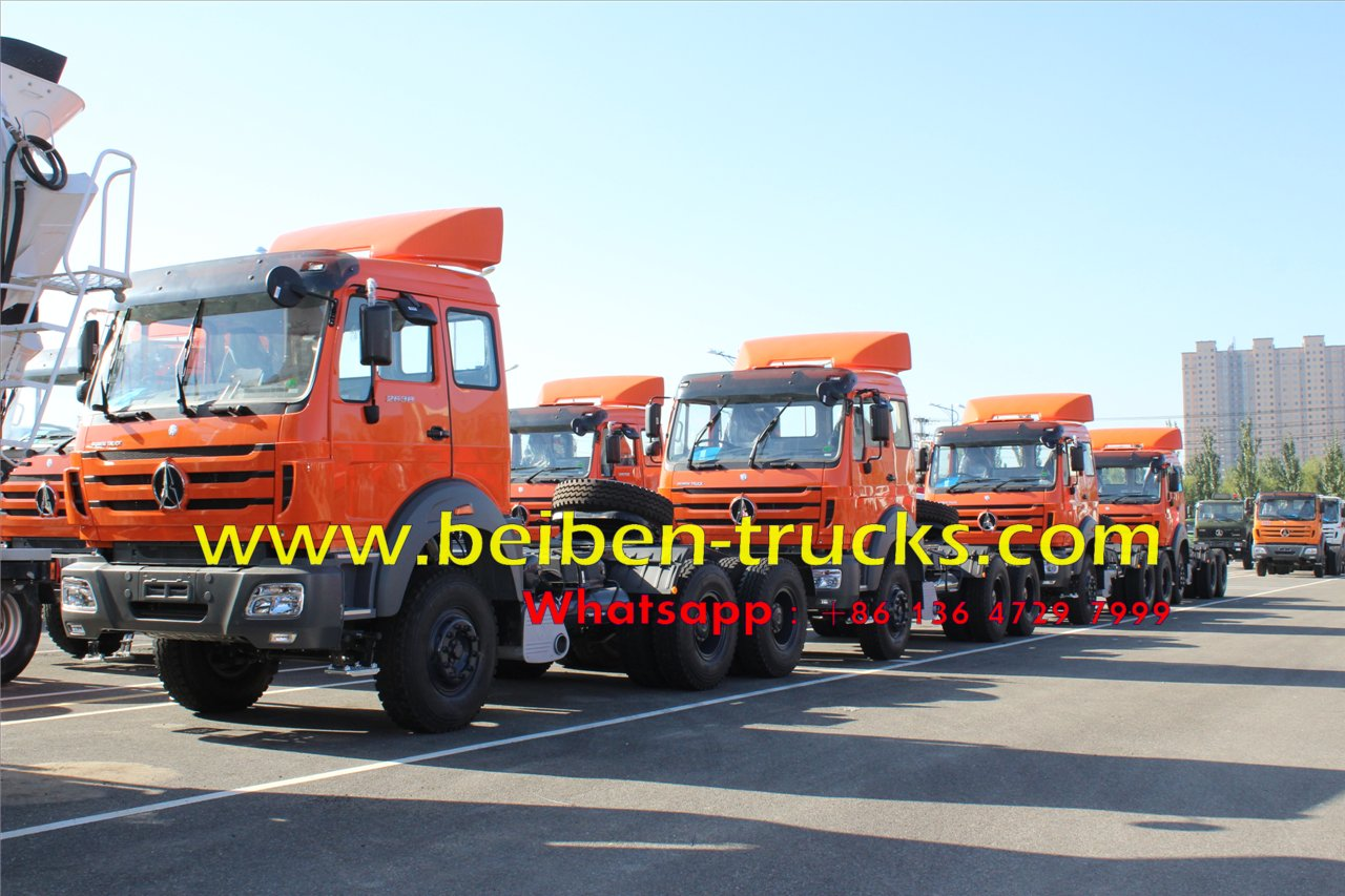 beiben right hand drive 2638 tractor truck