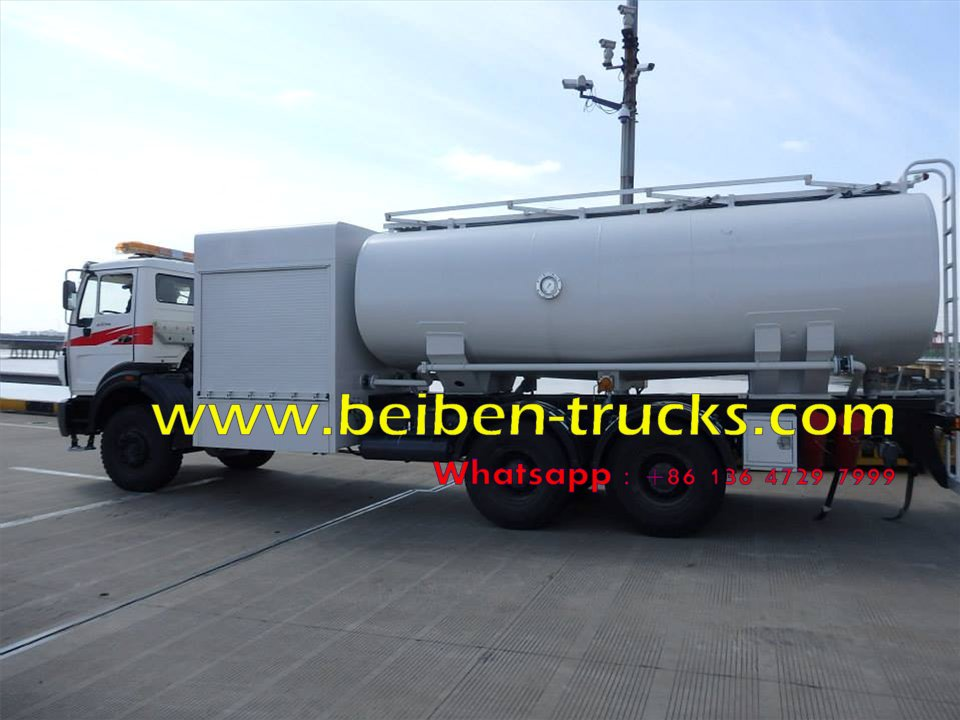 north benz airport fuel truck