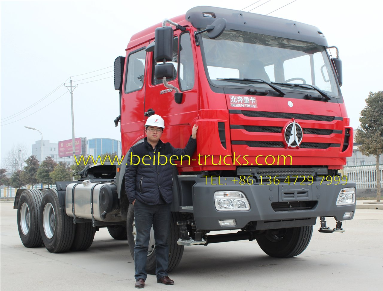 North benz 2538 tractor truck