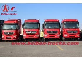 cheap price New BEIBEN V3 420hp big truck tractor for Tanzania