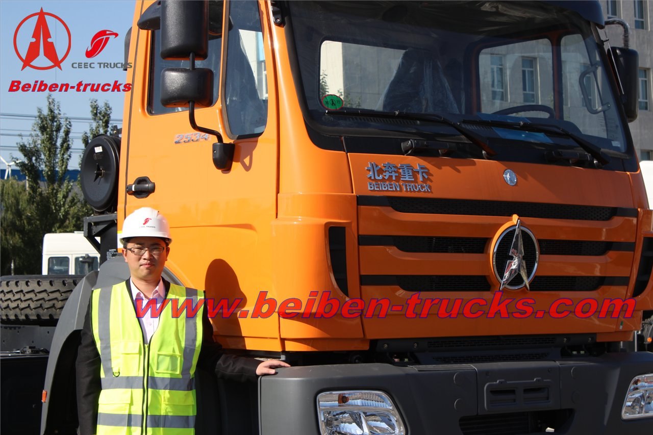 NG80 4X2 Beiben tractor truck with Benz Technology supplier