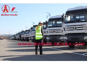 International 380HP NG 80 6X4 China Beiben trucks for sale