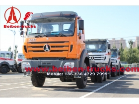 Beiben Truck WEICHAI Engine 6x4 NG80 Tractor Truck for africa congo customer