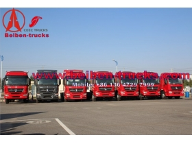 cheap North Benz Beiben 6x4 380hp Tractor Truck Head supplier in china