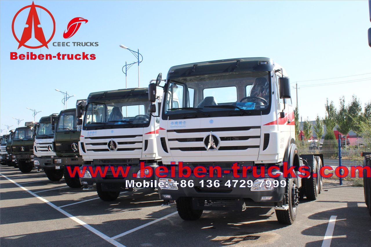 cheap price for North Benz BEIBEN Tractor Head 60Tons with WEICHAI engine 380hp 420hp Tractor Truck