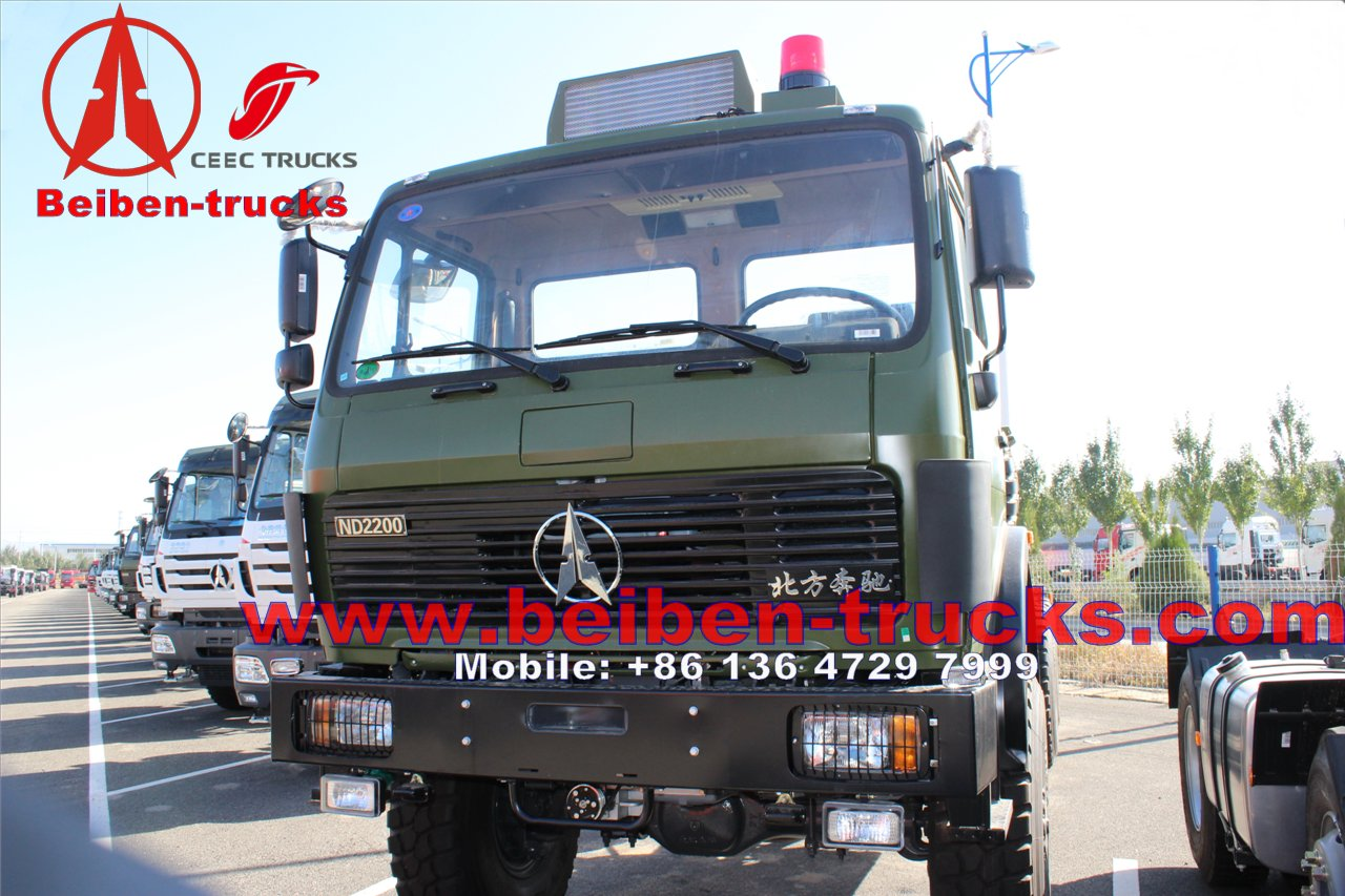 china famous Beiben 6x4 380hp Mack Tractor Truck