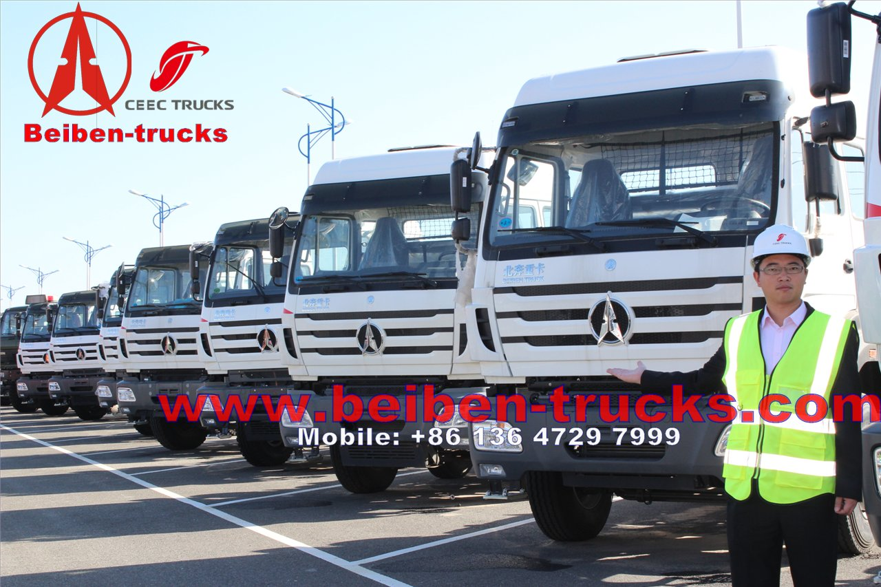 china best quality NorthBenz/Beiben NG80 6x4 480hp Tractor Truck/Tractor Tires For Trucks