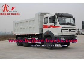 baotou The ND32500B48J7 The Beiben Dump Truck with 380HP Engine For this Tipper