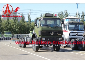 Mercedes Benz technology 40ton Tractor ND4252B32J7 6x6 336hp Tractor Head/Prime mover  for sale