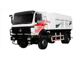 cheap North benz garbage collector truck manufacturer