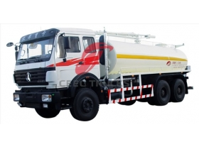 China beiben 16 CBM sewage suction truck manufacturer