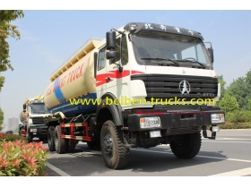 beiben 2534 off road cement transportation truck