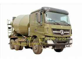 north benz 2538 v3 cement mixer truck price