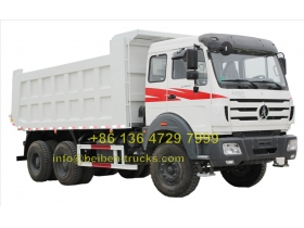 north benz 2529 dump truck