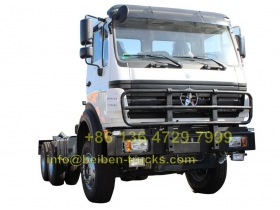 china north benz 2638 tractor truck