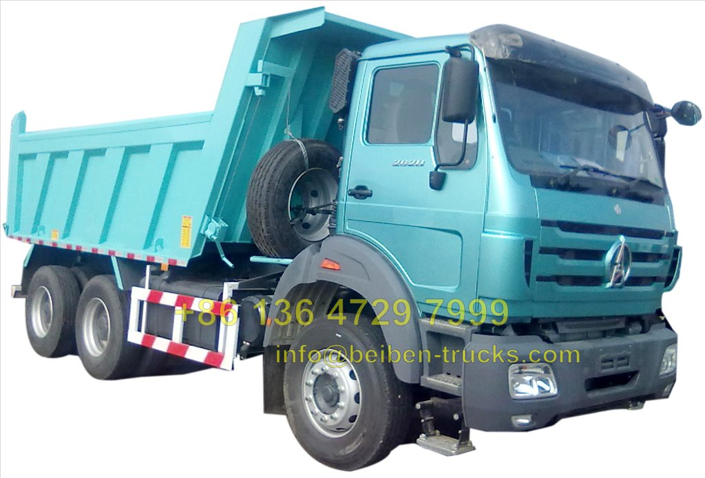 baotou Beiben 50 T dump trucks supplier