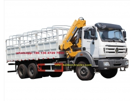 beiben 2638 cargo truck supplier