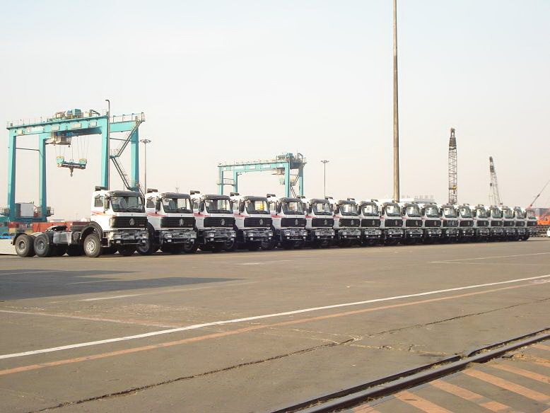 Algeria customer order 30 units beiben 2634 tractors