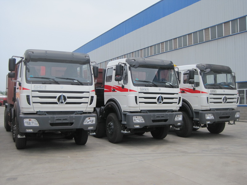 Mogolia customer place order 30 units beiben 12 wheeler dump trucks