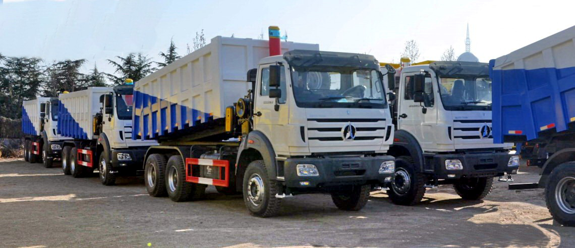 30 units beiben 2534K dump trucks are exported to Kenya, Mombassa.